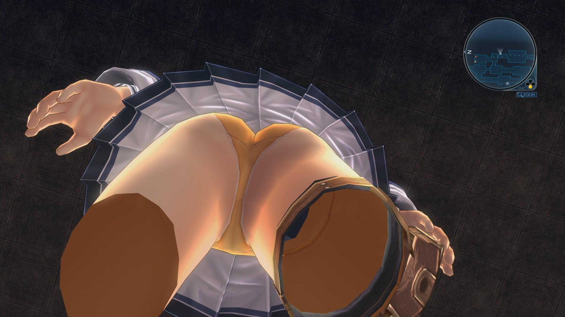 ユウナちゃんのパンツ画像