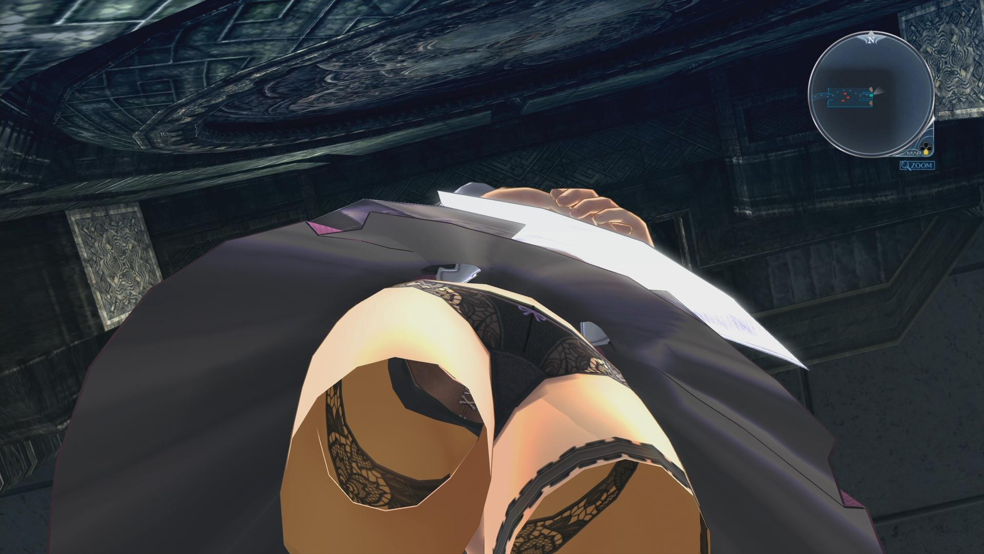 シャロンでローアングル画像