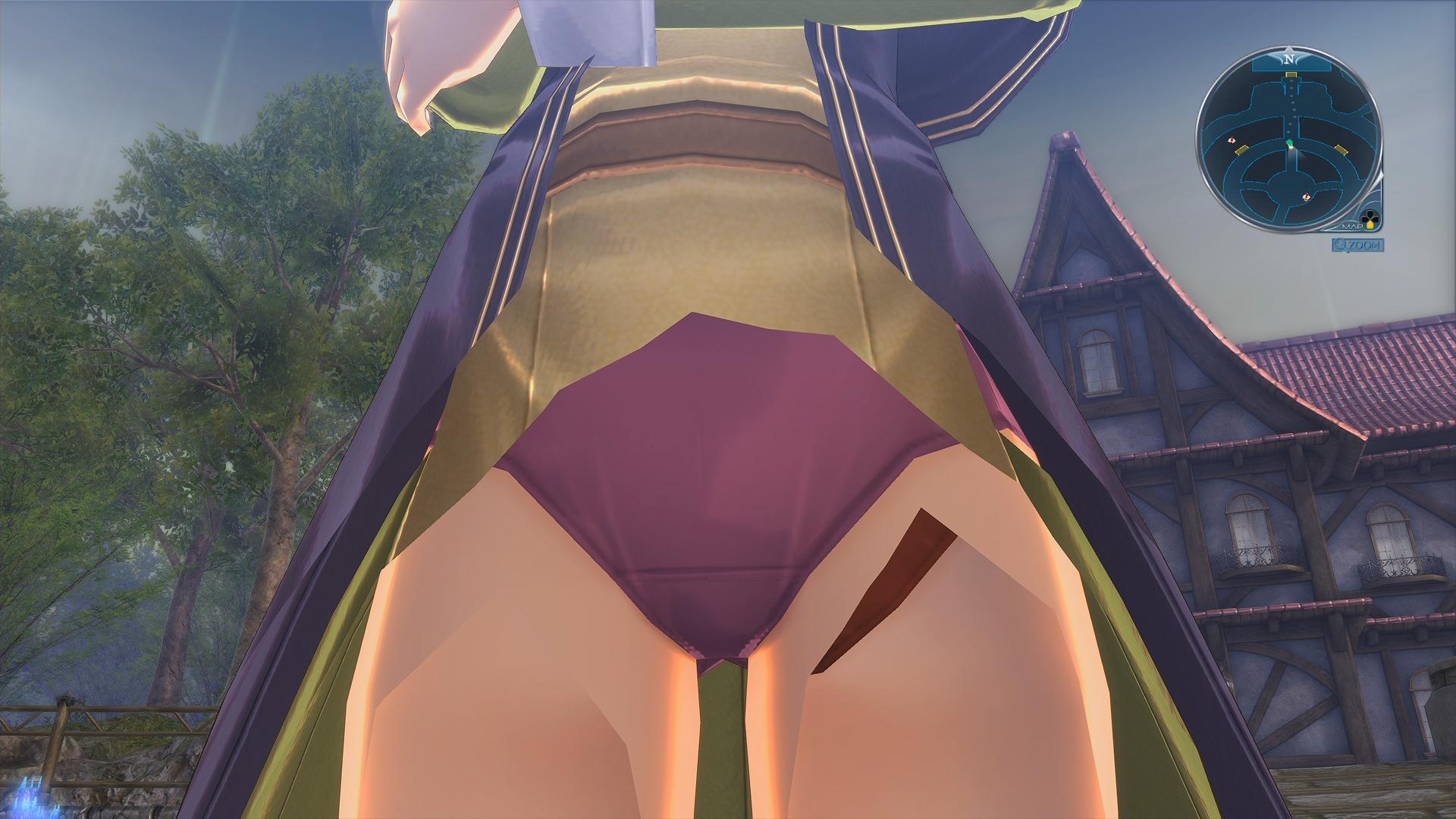 ニーナのパンツ画像